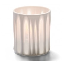 Hollowick 6207ST Striped Boutique Votive Candle