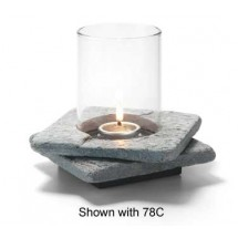 Hollowick ZEN-GSL2 Grey Slate Double Zen Base