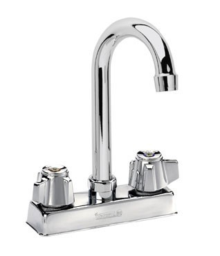 Krowne 11-400L Goosneck Low Lead Heavy Duty Faucet with 4