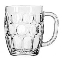 Libbey 5355 Dimple Stein Beer Mugs