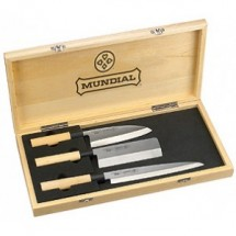 Mundial 4900-3 3 Piece Knife Set