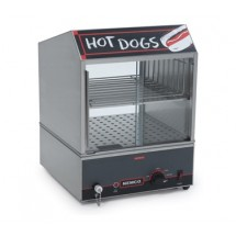Nemco 8301 Roll-A-Grill Countertop Hot Dog Steamer