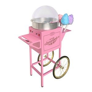 Nostalgia CCM600 Old Fashioned Carnival Cotton Candy Cart