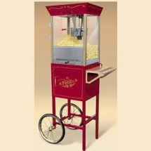 Nostalgia CCP600 Old Fashioned Movie Time Popcorn Cart
