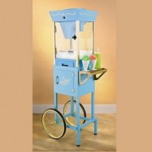 Nostalgia SCC200 Old Fashioned Carnival Snow Cone Cart / Concession Cart