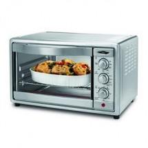 Oster TSSTTVRB04 6-Slice Convection Toaster Oven with a Brushed Stainless Steel