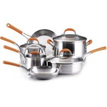 Rachael Ray 76081  Stainless Steel 10 Piece Set