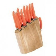 Rachael Ray FUR865 Furi 10 Piece Birchwood Block Set