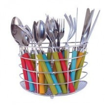 Ragalta RFW2400 24 Piece Multicolor Stainless Steel Utensil Set