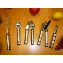 Ragalta RTS012 5-Piece Stainless Steel Kitchen Utensil Set