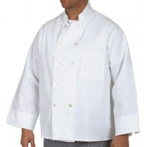 Royal RCC 303 L Permanent Press Twill Chef Coat