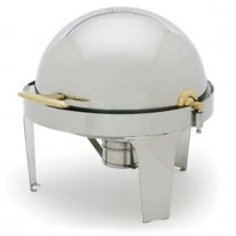 Royal ROY COH 42  7 Qt. Round Stainless Steel Chafer