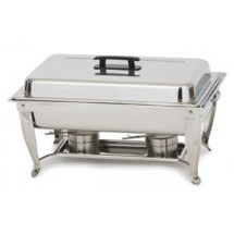Royal ROY COH 6  8 Qt.  Stainless Steel Rectangular Continental Chafer
