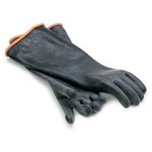 Royal ROY GLV BLK EL Heavy Duty Rubber Elbow Length Glove
