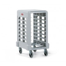 Rubbermaid 331500OWHT Max System Prep Cart with Cutting Board