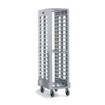 Rubbermaid 331700OWHT Max System Rack 18 Slot End Loader for Full Size Insert Pans