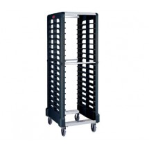 Rubbermaid 332400BLA Max System Rack 18 Slot Dual Loader for Full Size Insert Pans