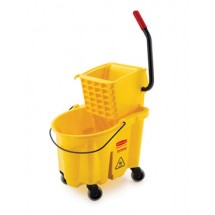 Rubbermaid FG748018YEL WaveBrake Specialty Mopping Combo 26 Quart Bucket