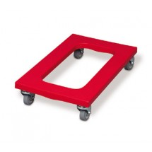 Rubbermaid FG9T5400RED Dolly Flush Deck