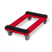 Rubbermaid FG9T5500RED Dolly Padded Deck