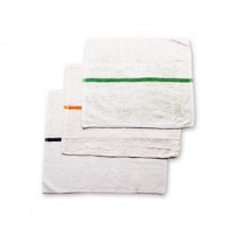 San Jamar 700BRT-GRS Green Stripe Bar Mop Towel
