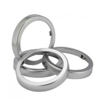 San Jamar C24XC Chrome Ez-Fit Finish Rings For C2410C