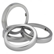 San Jamar C52XC Metal Sentry Finish Rings