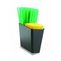 San Jamar L1035 Stir Stick And Straw Caddy