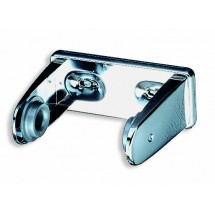 San Jamar R1200XC Chrome Non-Locking Standard Bath Tissue