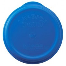 San Jamar SI6500 Blue Saf-T-Ice Snap Tight Lid
