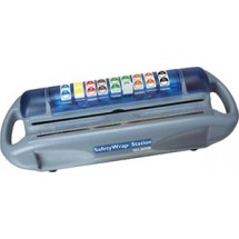 San Jamar SW1218 Saf-T-Wrap Film, Foil And  Date Label Dispenser
