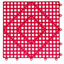San Jamar VM5280RD Red Versa-Mat Shelf Matting