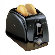 Sunbeam 3910100000 2-Slice Toaster, Black