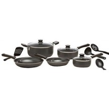 T-FAL C957SC74 Admiration Non-Stick 12 Piece Cookware Set