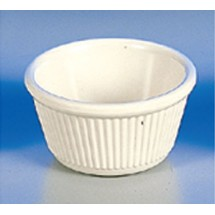 Thunder Group  ML532B 4 oz Fluted Ramekin Melamine