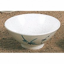 Thunder Group 3005BB Blue Bamboo 8 oz. Rice Bowl 1 DOZ