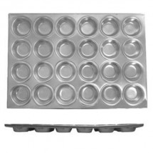 Thunder Group ALKMP024 3-1/2 oz. 24 Cup Muffin Pan 1 Pcs