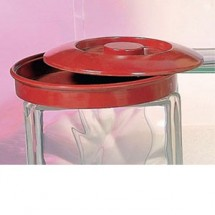Thunder Group NS608R Nustone Red Tortilla Server With Lid 1 DOZ