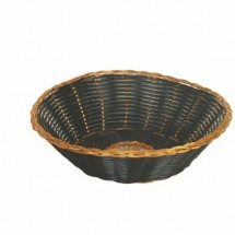 Thunder Group PLBB825G Round Basket / Gold 1 DOZ