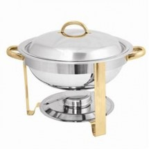 Thunder Group SLRCF0831GH 4 Qt. Round Chafer