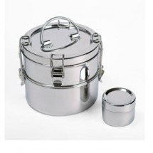 To Go Ware 2-Tier Stainless Steel Tiffin