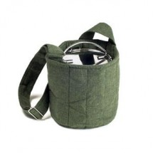 To Go Ware Forest Green 2-Tier Cotton Carrier Bag