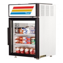 True GDM-5F 5 Cu Ft  Countertop Glass Door Freezer Merchandiser. One Section