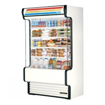 True TAC-48GS 34 Cu Ft Vertical Air Curtain Merchandiser