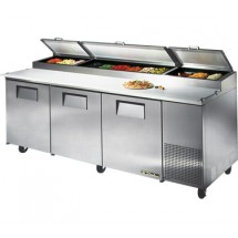 True TPP-93 30.9 Cu Ft Pizza Prep Table With 19.5