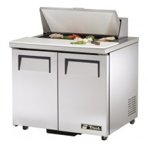True TSSU-36-8-ADA 8.5 Cu Ft Sandwich / Salad Prep Table With 11-3 / 4