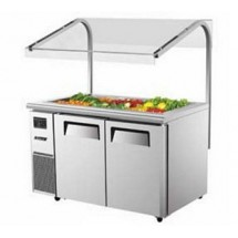 Turbo Air JBT-60 Two Section Side Mount Refrigerated Buffet Table