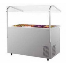 Turbo Air JBT-72 Three Section Side Mount Refrigerated Buffet Table