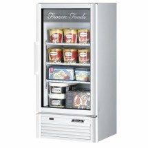 Turbo Air TGF-10SD Super Deluxe Glass Merchandiser Freezer - 9.3 Cu Ft.