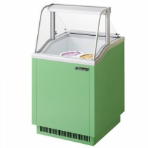 Turbo Air TIDC-26G 26'' Green Ice Cream Dipping Cabinet